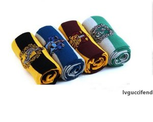 winter Scarf Gryffindor Harry Potter Scarves School Unisex Knitted Striped Scarfs Gryffindor Scarves Hufflepuff Scarfs Cosplay forParty 4152