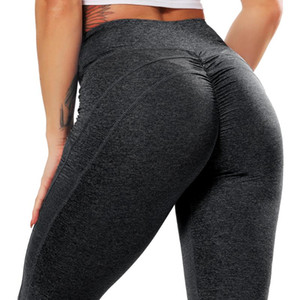 Spor Kadın Spor Pantolon Yoga Pantolon 2020 Koşu CROSS1946 Kadınlar Push Up Stretch Gym Tozluklar Dikişsiz Spor Leggings