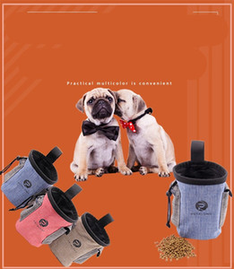 Cane trattare Pouch sacchetti di immagazzinaggio polsi Puppy Sack Organizzatori animali Formazione Pet Supplies Gatti Pocket Alimentatori 11 C2 5MC