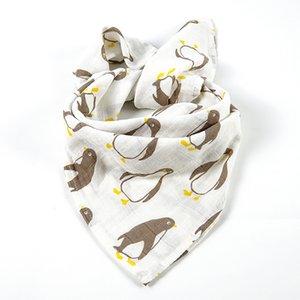 2Pcs Baby Soothing Towel Super Soft Muslin Bath Towel For Newborns Multi-use Baby Bib Burp Cloth Kid Scarf Handkerchief 60x60cm Y200710