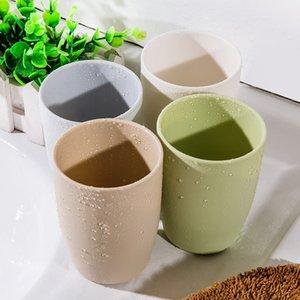 3 couleurs mode gargariser Simple Lover Tasse de plastique costume lovers tasse de brosse en plastique nouvelle brosse à dents lavage gargariser de DH0036