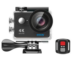 Original câmera ação Eken H9 / H9R 4K wi-fi Ultra HD 1080p / 60fps 720P / 120FPS Go mini-cam pro bicicleta câmera de esportes de vídeo à prova d'água