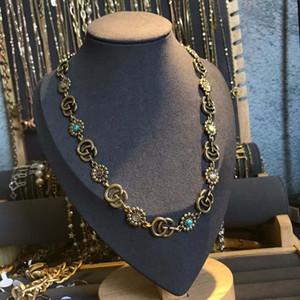 2020 European American Fashion Style Men and Women 316LG Letter Cat Eye Retro Necklace Leopard Head Necklace Hot Sale