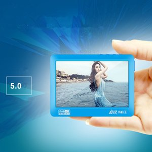 Freeshipping HD сенсорный экран MP4 плеер 8gb Встроенный динамик 5-дюймовый MP4 музыкальный плеер TV Out Recorder Multi-языки MP5 Video Player