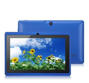 2020 Q88tablets wifi 7 inch 512MB RAM 8GB ROM Allwinner A33 Quad Core Android 4.4 Capacitive Tablet PC Dual Camera facebook