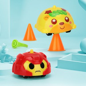 Children's Fingertip Mini Gyro Toy, Fawn Mini Inertial Pull Back Car Slide Children Interactive Toy Gift