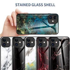 Adatto per IPhone 12 pro cassa del telefono mobile creativo max moda iPhone 11 anti-caduta cassa del telefono di protezione vetro di design