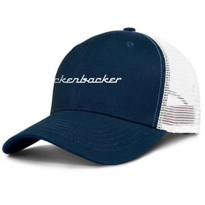 Rickenbacker Guitars Logo for men and women adjustable trucker meshcap design fitted custom trendy baseballhats Gay Pride Rainbower USA