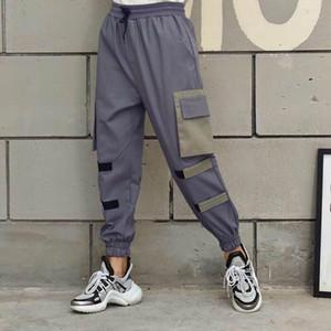 Mens Joggers Casual Pants Fitness Men Sportswear Tracksuit Bottoms Skinny Sweatpants Trousers Black Gyms Jogger Track Pants UNISEX