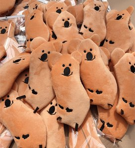 Korean dinotaeng bell pepper bear super cute koala wallet pencil case storage furry ins style Storage bag