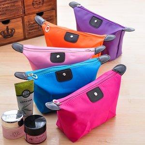 Korean style Storage Hand simple cute small portable cosmetic travel storage ladies' hand bag wash bag