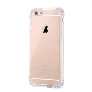 Shockproof Transparent Phone Case for iPhone X XS XS MAX XR 8 7 6 Plus Soft Gel TPU Case Clear Back Cover for Samsung S8