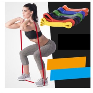 Unisex Resistance Band Exercise Elastic Rubber String Band Workout Loop Strength Pilates Fitness Equipment Training Expander