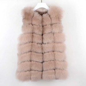 Real Fur Vest Fur Parka Mink Winter Coat For Jacket Female Coats Vest Waistcoat Coats Real Coat Jacket