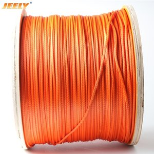 Car Wash & Maintenance Towing Ropes jeely 12 weaves 3mm 2000lb 50m Paraglider Winch Rope UHMWPE Braided