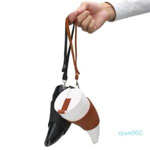 Goat Design Caneca Cabra chifres em forma de canecas 230ml de aço inoxidável isolamento a vácuo garrafa Copa Copos de água Viajando Cup
