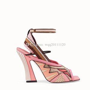 With Box & Dustbag 2018 New Rihanna Leadcat Fenty Color sandals Faux Fur Burgundy Slide sandals Ladies Indoor Purple Pink Sandals