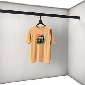 Freies Verschiffen Sommer Art und Weise gedrucktes T-Shirt Student Pullover für Männer und Frauen Größe S M L XL XXL