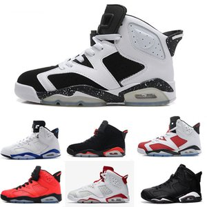 New UNC 6 6s rings Jumpman mens basketball shoes defining moments bred gym red taxi black ice concord men women stylist Sneakers