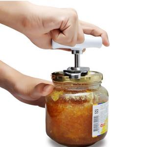 Edelstahl Dosenöffner Einstellbare Glasöffner Manuelle Spiral Seal Deckel Remover Twist Off Schraube Flaschenöffner Küchenhelfer T2I5765-1