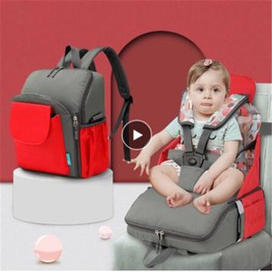Baby Diaper Bag Multifunction Baby Dining Chair Bag Safety Chair For Large Capacity Maternity Nappy Organizer Portable Chait