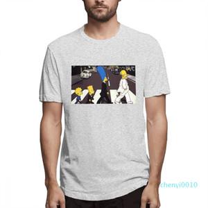Cotton Os Simpsons desenhador de moda camisas camisas das mulheres dos homens de manga curta camisa Os Simpsons Impresso camisetas Causal c3508c10