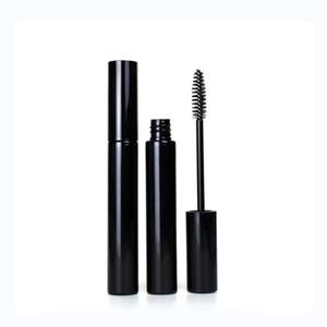 12ml Portable Empty Bottle Black Eyelash Tube Mascara Cream Vial Container Fashionable with Silver Lid Refillable Bottles