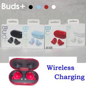 Galaxy Buds + Mini casque casque Bluetooth jumeaux écouteurs écouteurs stéréo sans fil dans l'oreille avec charge sans fil