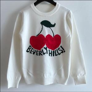 Milan Runway Sweater 2020 Long Sleeves O Neck Women's Sweaters High End Jacquard Pullovers Women Designer Sweater@0712