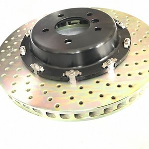 Jekit car part floating front brake disc 380*32mm set and rear brake rotor 355*32mm for GS300 system tjEM#