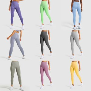 2020 New Products Beautiful Hips High Waist Breathable Fitness Leggings Women Seamless Tight Running Sports Pants Yoga Pants XXL#969
