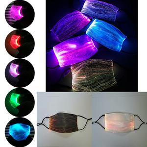 Maschera LED 7 luci colorate Change Bar Nightclub danza può mettere PM2.5 filtro Pulsante di Controllo XD23691