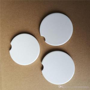 сублимации пустого автомобиля керамик подставки 6,6 * 6.6cm горячие трансферной печать каботажных пустой расходных материалы заводской цена