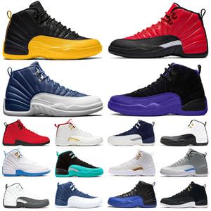 moda caldo di Jumpman 12 Università oro scarpe 12s uomini di pallacanestro Indigo inversione influenza Gioco scuro Concord scarpe da ginnastica mens piattaforma allenatori sportivi