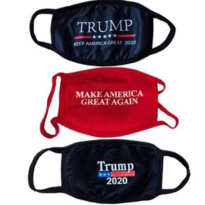 3D Design Trump Mask Windproof Cotton Mouth Masks Adult American Election United States Mask Cartoon Calico Mask EEA1844