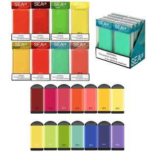 SEA AIR Disposable Device Pod Kit 450mAh Battery Prefilled 2.6ml Cartridges 500 Puffs Vape Empty Pen VS Bar Plus Flow