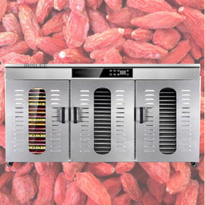 LT-021 comercial em larga escala Secas vegetais Fruit Machine Fruit Dehydrator Pet Secador de fast food Forte de saúde eficiente Food Dryder