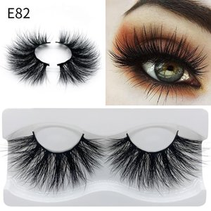 100% Percent Real Mink lashes 25MM 3D Makeup Fake Soft Natural Long Thick Beauty Tools Extension 15 styles Packaging eyelashes Packaging