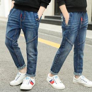porter des pantalons longs automne jeans garçons 2020 nouvelle moyenne automne et grands jeans wear Mode enfants coréens pour enfants enfants