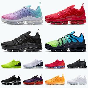 ayakkabı airmax air vapormax tn plus En kaliteli erkek koşu ayakkabı boyutu 13 pastel mix renk kadın sneakers üçlü kırmızı siyah aurora yeşil fly tns örgü eğitmenler