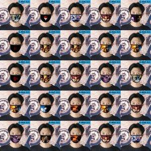 Kid Naruto Cubrebocas многоразового Tapabocas Face Mask Дизайнер Для девочек мультфильма маски для лица 23 Kid Naruto Nngat SQ2009