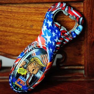Trump Bottle Opener Stainless Steel Portable Sound Voice Openers Kitchen Gadget for Beer Club Party Favors Bar Tools Funny Designer D73002