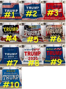 130*150cm Blanket Trump 2020 KEEP AMERICA GREAT Letters Double Thicken Blanket Square Throw Blanket President Election Carpet D73003