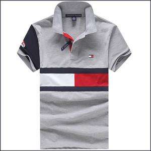 designer de camisas pólo homens Tee Homens Mulheres colaboração Oversized limitada camisetas Hiphop Rhude T-shirt dos homens de Tommy