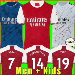 Arsenal soccer jersey football shirt futbol forması PEPE 20 21 AUBAMEYANG LACAZETTE 2020 2021 Camiseta XHAKA OZIL futbol takımı gömlek üniforma maillot de ayak üçüncü