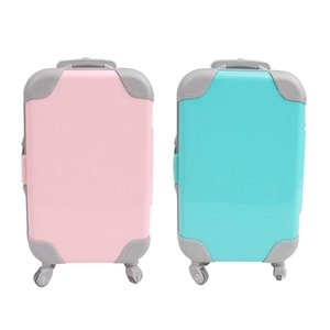 Lot 2 18 inch Doll Travel Set Suitcase Compatible for American Doll