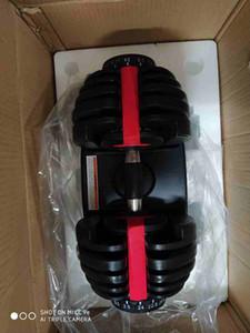 Ajustable con mancuernas 2.5-24kg pesos de la aptitud Pesas entrenamientos fortalecer los músculos deportes al aire libre Fitness Equipment ZZA2230