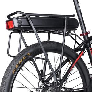 Electric Bike 48V 15Ah 17.5Ah 36V 20Ah traseira da cremalheira Cell Battery Pack para Big Capacidade e-bicicleta bagagem cremalheira carregador de bicicleta