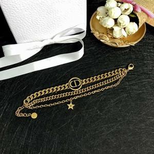 venda carta Hot retro multi-camada pulseira estrela cadeia de moda all-jogo pulseira personalidade