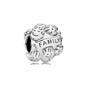 100٪ 925 الفضة الاسترليني الأسرة سحر صالح الأصلي الأوروبي سحر سوار أزياء المرأة الزفاف الاشتباك مجوهرات اكسسوارات